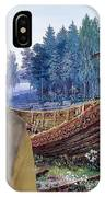 Swedish Lapphund Art Canvas Print  IPhone Case