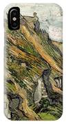 Thatched Cottages In Chaponval IPhone Case