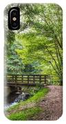 The Bridge Birches Valley Cannock Chase IPhone Case