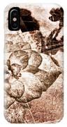 Thumbelina Rose - Miniature Rose - Digital Paint II IPhone Case