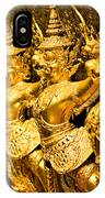 Wat Phra Kaeo Temple - Bangkok - Thailand.  IPhone Case