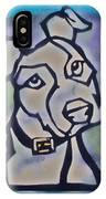 White Dog IPhone Case