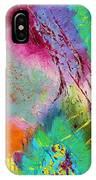 Modern Abstract Diptych Part 1 IPhone Case