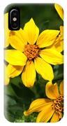 Yellow Texas Wildflowers IPhone Case