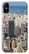 0001 Chicago Skyline IPhone Case