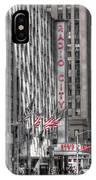 0007 Radio City Music Hall IPhone Case