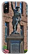 001 American Doughboy Over The Top To Victory IPhone Case