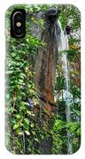 001 Falling Waters For The Cactus Lover In You Buffalo Botanical Gardens Series IPhone Case