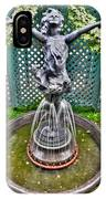 001 Fountain Buffalo Botanical Gardens Series IPhone Case