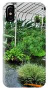 001 Within The Rain Forest Buffalo Botanical Gardens Series IPhone Case