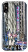 0010 Radio City Music Hall IPhone Case