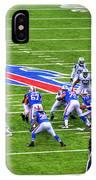 0013 Buffalo Bills Vs Jets 30dec12 IPhone Case