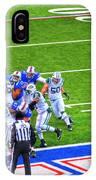 0016  Buffalo Bills Vs Jets 30dec12 IPhone Case