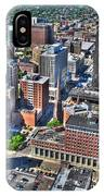 0017 Visual Highs Of The Queen City IPhone Case