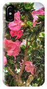 002 Bonsai Summer Show Buffalo Botanical Gardens Series IPhone Case