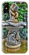 002 Fountain Buffalo Botanical Gardens Series IPhone Case