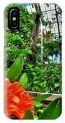 003 Falling Waters Buffalo Botanical Gardens Series IPhone Case