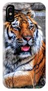 003 Siberian Tiger IPhone Case