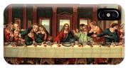 0030s The Last Supper After Leonardo Da IPhone X Case