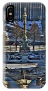 0037 Birdseye View Of Lafayette Square IPhone Case