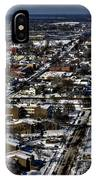 0042 After The Nov 2014 Storm Buffalo Ny IPhone Case