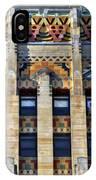 0049 Art Deco City Hall IPhone Case