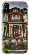 008 Mansion On Delaware Ave IPhone Case