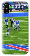 009 Buffalo Bills Vs Jets 30dec12 IPhone Case