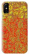 0124 Abstract Thought IPhone Case