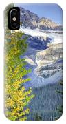 0141 Fall Colors On Icefield Parkway IPhone Case