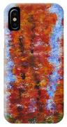 026 Red Trees IPhone Case
