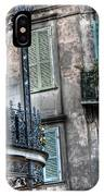 0275 New Orleans Balconies IPhone Case