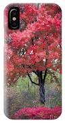 0277 Blazing Red IPhone Case