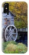 0290 Hyde's Mill Wisconsin IPhone Case