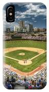 0443 Wrigley Field Chicago  IPhone Case