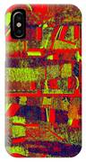 0480 Abstract Thought IPhone Case