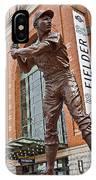 0620 Hank Aaron Statue IPhone Case