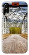 0649 Bow River Bridge IPhone Case