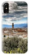 0753 Florence Italy IPhone Case
