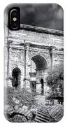 0791 The Arch Of Septimius Severus Black And White IPhone Case