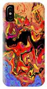 0809 Abstract Thought IPhone Case