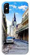 0928 St. Louis Cathedral - New Orleans IPhone Case