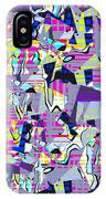 0978 Abstract Thought IPhone Case