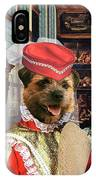 Border Terrier Art Canvas Print IPhone Case