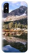 Cirque Of The Towers In Lonesome Lake 5 IPhone Case