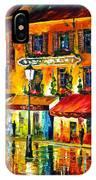 Paris Night Montmartre IPhone Case