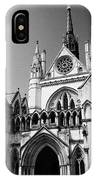 The Royal Courts Of Justice London England Uk IPhone Case