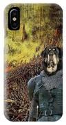 Tibetan Mastiff Art Canvas Print IPhone Case