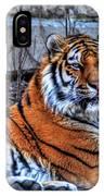 0013 Siberian Tiger IPhone Case