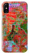 1306 Abstract Thought IPhone Case